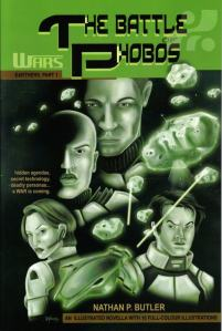 Cover of Healers and Hunters (WARS: The Battle of Phobos - Earthers, Part 1 of 3) You can purchase a copy at: http://www.amazon.co.uk/Healers-Hunters-WARS-Battle-Earthers-ebook/dp/B004MPRAJ8