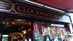Clockwatchers is such a great place that you have to keep looking at your watch. Without it, you will spend there all day and miss your appointments!