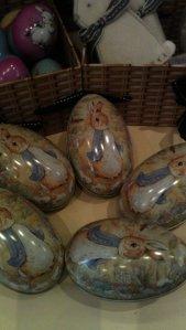 Hand painted chocolate eggs