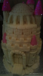 Now this is what we call an Eastern Egg - a castle  for a princess!