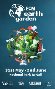 Official Earth Garden  AD 2013 poster