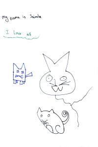 Jaimelee's cats