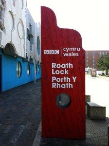 Roath Lock entrance