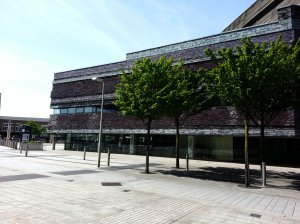 Wales Millenium Centre  - a side view