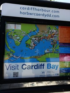Official map of the Cardiff Bay