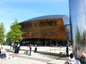 Wales Millenium Centre - front