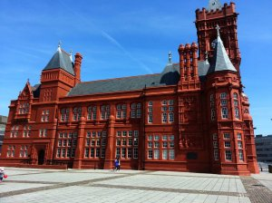Western facade of Pierhead Building