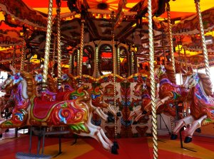 Welsh themed carousel