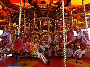 Welsh themed carousel