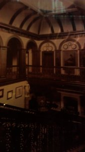 Gallery around year 1912 - this is how the court looked like during Arthur Conan Doyle stay