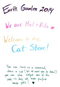 Welcome to  the Cat Store!
