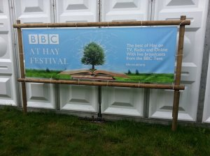 BBC at Hay Festival poster