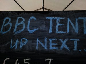 BBC Tent - UP Next!