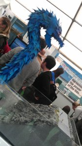 Blue Dragon at Tidal Lagoon stall