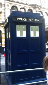 TARDIS ha been arrested