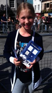 Anna  and her TARDIS diary