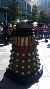 And here's another picture of a Dalek - just because we think they are cool