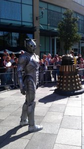 Cyberman is looking around - you will be upgraded or deleted!