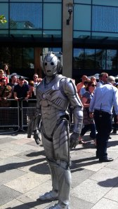 The invasion continues - Cybermen arrive