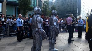 Cybermen ready for action