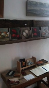 Window Gallery and  Menna's  still life  works