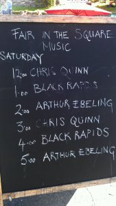 Castle Street performances schedule