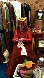 Suzie Litton Wood and her historical costumes