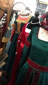 Collection of dresses - a wardrobe for Sansa Stark maybe?