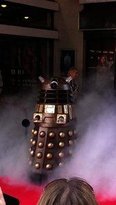 Daleks arrive in cloud of smoke
