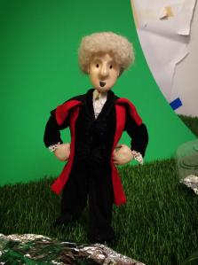 The Third Doctor is ready for some action!