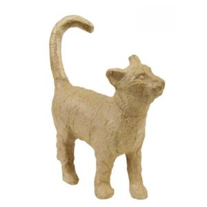 The basic paper mache cat made for Hobby Craft