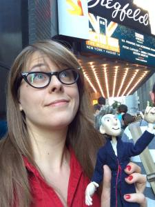 Alis and Peter Capaldi Puppet