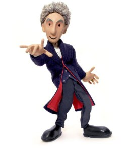 Peter Capaldi as the 12th Doctor Puppet