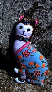 Tintern Abbey has a cat
