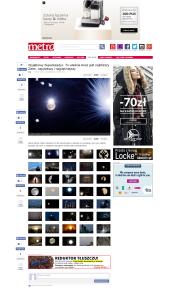 Metro Gazeta Wyborcza Poland - Wyjątkowy Superksiężyc. To właśnie teraz jest najbliższy Ziemi, największy i najpiękniejszy 11 August 2014