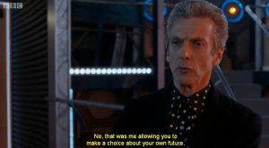 "The Doctor being ""pro-choice"""