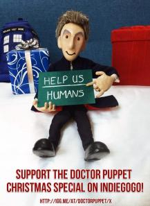 Please help The 12th Doctor and his team to create the best Christmas Special yet.