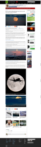 RT News  - Red Harvest Supermoon 9th of september