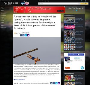 Yahoo Sport News August 31st 2014