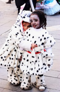 101 Dalmatians. The girls were not twins.