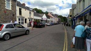 Saundersfoot village centre