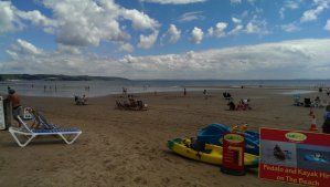 Saundersfoot is a popular tourist destination. It is twinned with Tenby, another mega popular sea resort
