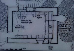Chapel map