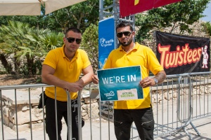 Security kept all eyes open on recycling and keeping the festival  problems free