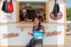 The ladies from Twisteers veren convinced their customers to join too. Great work ladies!