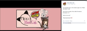 Logo of the Neko Maid Cafe