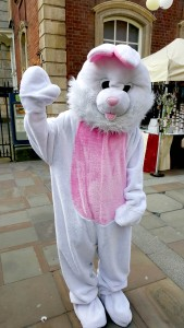We also had a Easter Bunny. That was cute - the kids loved it.
