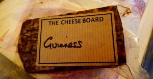 We purchased Guinness Cheddar. Best cheese you can have. End of topic.