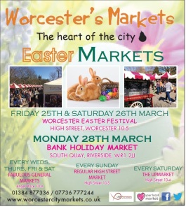 Worcester Easter Market 25-26 March 2016