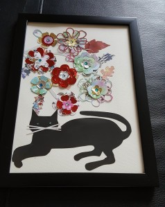 A lot of blooming fun part 1 framed